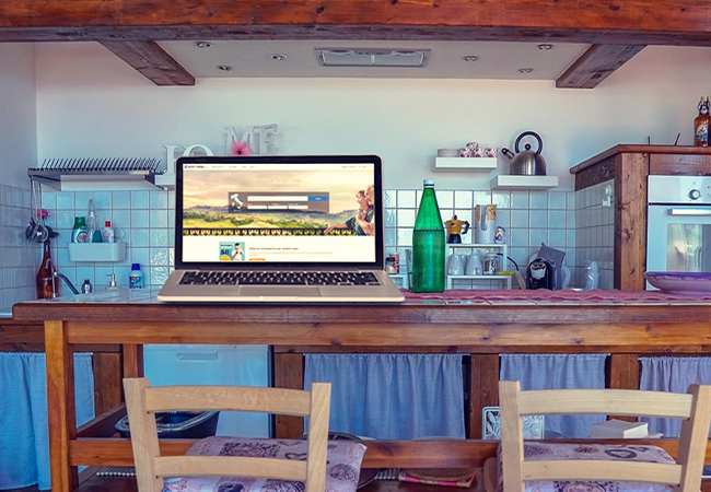 Trabalhar a partir de casa em Itália: as propriedades ideais